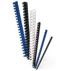 Пружины пластик D=10 мм LAMIREL черный 100шт.LA-7867102