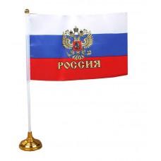 Флаг 14*21 со штоком на подставке  412816